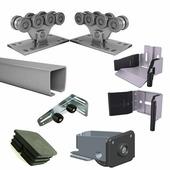 ALUTECH Комплектующие для откатных ворот весом до 450 кг или шириной до 4м (набор-комплект)