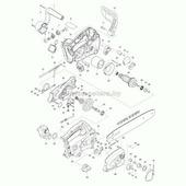 Коническая спирал. шестерня 14 натяжения цепи UC4020A/4030A, MAKITA (227496-2)
