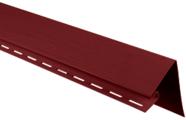 Околооконная планка для сайдинга Альта-Профиль Красный