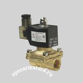 Клапан соленоидный нормально закрытый для воды росма СК-11-25 Ду 25 220В