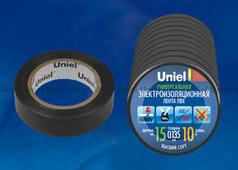 Изолента Uniel UIT-135P 10/15/10 BLK