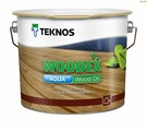 Пропитка масло Teknos WOODEX Wood Oil Aqua, бесцветный, 2,7л, шт, Финляндия