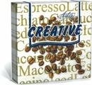 Салфетки бумажные Aster Creative Кофе, 3-слойные, 25 х 25 см, 20 шт