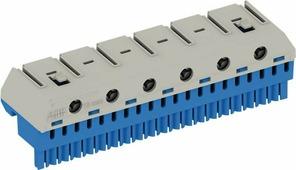 Клеммные соединения ZK206B Клеммник N 20x4 + 6x25 мм2 для AT/U ABB