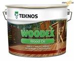 Масло Teknos WOODEX Wood Oil Brown, коричневый 9л, шт, Финляндия