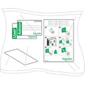 Комплект RFID карт - 10шт. Schneider Electric, EVP1BNS