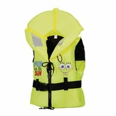 Спасательный детский жилет Marinepool Sponge Bob ISO 100N желтый 20 - 30 кг