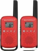 Портативная радиостанция Motorola Talkabout T42 (красная, 2шт)