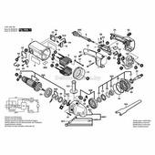 1600905009 радиальный шарикоподшипник Bosch (1600905009)