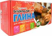 "Висма Натуральная глина для лепки ""Брикмастер"", 1000 гр."