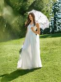 Электронная выкройка Burda - Свадебное платье в греческом стиле №105