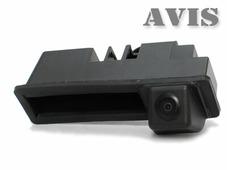AVEL CCD штатная камера заднего вида AVIS AVS321CPR (#004) для AUDI A6 (2011-...) / AUDI A8 (2010-..) / Q7, интегрированная с ручкой багажника