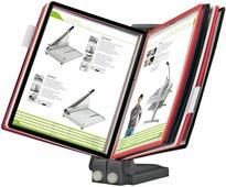 Настольная демосистема Office Force Stationery Qulck-Vlew Information Display А4, плоская подставка