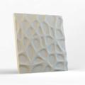 Стеновая гипсовая 3D панель – Паутина, 500х500mm