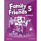 """Casey Helen """"Family and Friends 5. Workbook"""""""