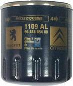 Масляный фильтр Peugeot/Citroen 1109AL