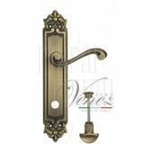 Дверная ручка на планке Venezia Vivaldi PL96 матовая бронза wc