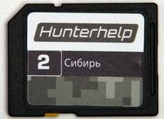 Карта памяти Hunterhelp №2 Фонотека «Сибирь» Версия 7