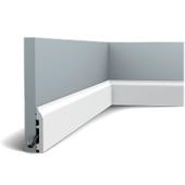 Плинтус напольный из дюрополимера Orac Decor SX172 F гибкий