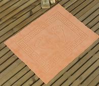 "Коврик для ванной Karna ""Likya"", цвет: абрикосовый, 50 х 70 см"
