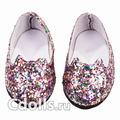Gotz Glitter Shoes (Блестящие туфли с пайетками для кукол Готц 42 - 50 см)