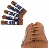 Вощеные шнурки Saphir (круглые, тонкие) (Цвет-03 Светло-коричневый Размер-90 см)