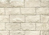Декоративный искусственный камень РокСтоун Мрамор широкий 2500п, Белый