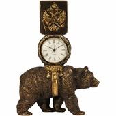 Часы настольные/каминные BOGACHO Держава, 41060 Б, бронза