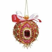 """Волшебная мастерская Набор для создания новогоднего шара из пайеток """"Кардинал Ришелье"""""""