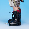 Fairyland Boots LS-12 Black for LittleFee (Черные сапожки для кукол ЛитлФи Фейриленд)