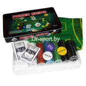 Набор для покера (300 фишек+ 2 колоды карт) 7104MY-114