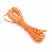 Замшевый шнур 3 мм, цвет оранжевый
