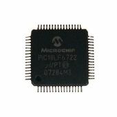 микроконтроллер PIC NXP , QFP PIC18LF6722