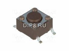 DTSM61N, Переключатель: тактовая кнопка, SMD, 4,3