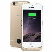 Чехол аккумулятор INTERSTEP для iPhone 5 / SE Gold, 2200 мАч