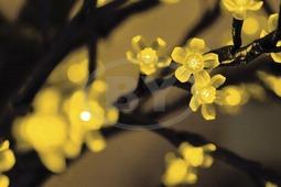 "Светодиодное дерево Neon-night ""Сакура"" желтый 2.4 м, Ø 2 м"
