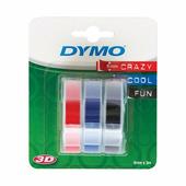 Лента Dymo S0847750/146079 (9 мм, красная, черная, синяя) для Omega {S0847750}