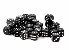 Кубик для игры в кости 8*16*3см 42423