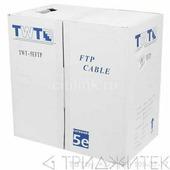 Кабель FTP, 50 пар, Кат. 5e, синий, 305м в кат., TWT