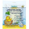 Baby line Детская губка для мытья и массажа Натуральная (Baby line, Для купания)