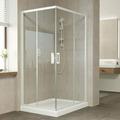 Стеклянный душевой уголок Vegas Glass ZA-F 120 x 100 - без смесителя для душа 120 / 100 см / без смесителя для душа