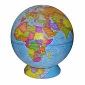 Настольный политический глобус d=42 см Глобусный мир 10359
