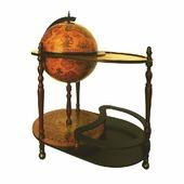 Глобус-бар напольный диаметр 42 см 47026