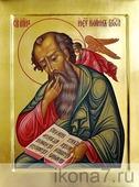 Иоанн Богослов (рукописная икона). Серия: ИК, Размер (см): 22х28 (Иоанн (Иван))