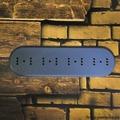 """Подложка четырехместная деревянная """"Царский Стиль"""" ASR-80407, цвет: серый"""
