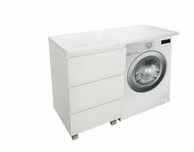 Эстет комплект мебели Dallas Luxe 120 напольный 3 ящика