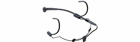AKG C520 головной вокальный конденсаторный микрофон с оголовьем, кардиоидный, черный, адаптер фантомного питания в разъёме XLR