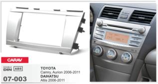 CARAV 07-003 Toyota Camry, Aurion 2006-2011 / DAIHATSU Altis 2006-2011