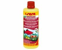 SERA Bio Nitrivec 100мл, высококачественные очищающие бактерий для запуска аквариума