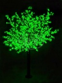"Светодиодное дерево Neon-night ""Сакура"" зелёный 3.6 м, Ø 3 м IP 54"